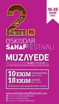 Üsküdar Sahaf Festivali Müzayede