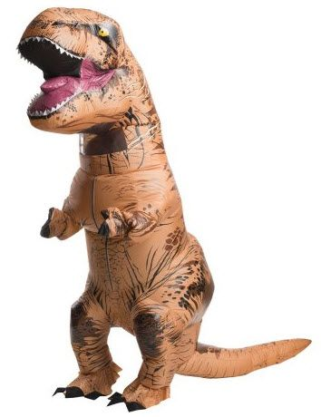 Inflatable T-Rex costume for adults