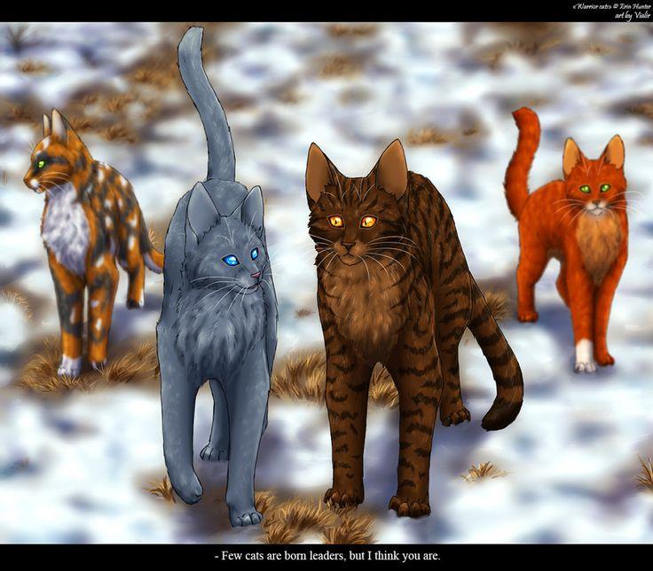 Warriors Erin Hunter Squirrelflight: Mistyfoot And Brambleclaw By Vialir On DeviantART