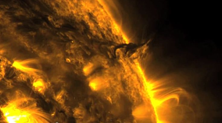 Watch: Incredible Video of Tornadoes Swirling on the Sun