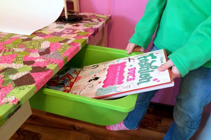 DIY-Basteltisch für Kinder   Ländchenlust