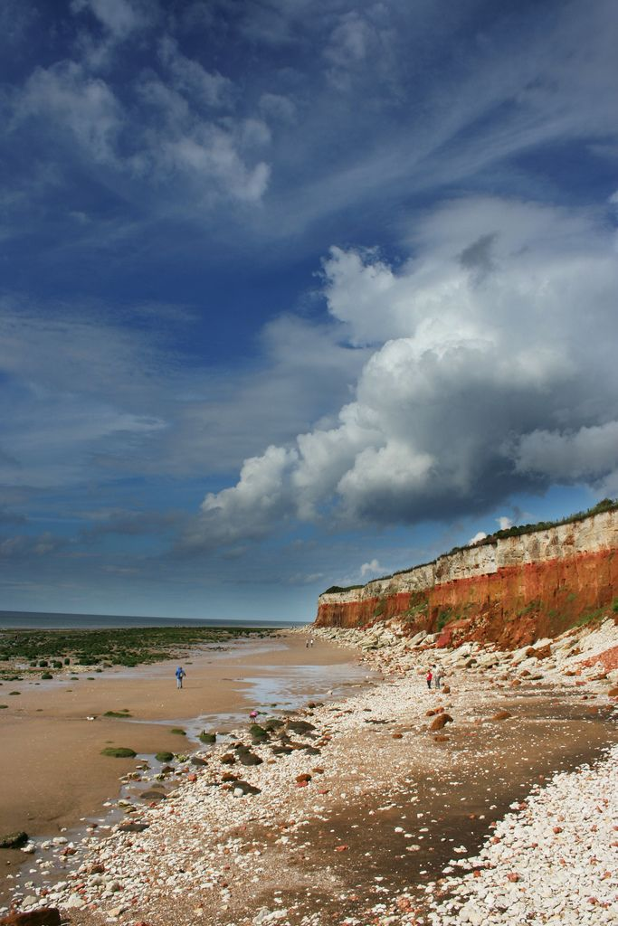 Hunstanton, Norfolk also Known as Sunny Hunny ,a seaside resort that gained popularity as early as the 1860s.