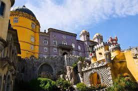 Картинки по запросу дворец пена синтра португалия