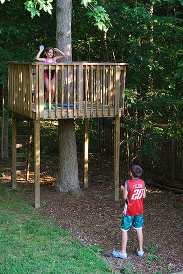 78 ideas about simple tree house on pinterest diy tree for How to build a simple tree fort