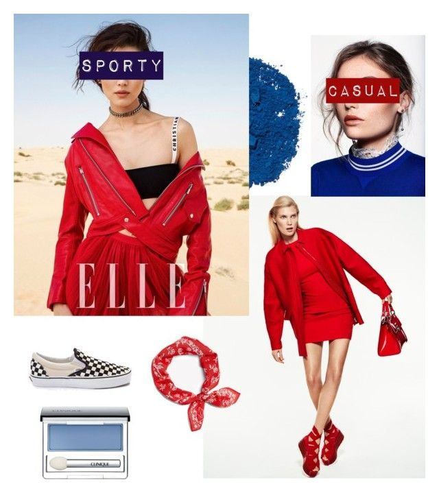 Sporty casual by bintangghaisani on Polyvore featuring polyvore, fashion, style, Vans, rag & bone, Illamasqua, Clinique and clothing