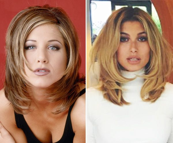 Hailey Baldwin Channels 'Friends' Rachel Green With '90s BlowoutHaircut
