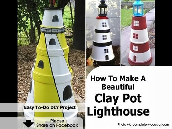 how to make a house from plastic pots