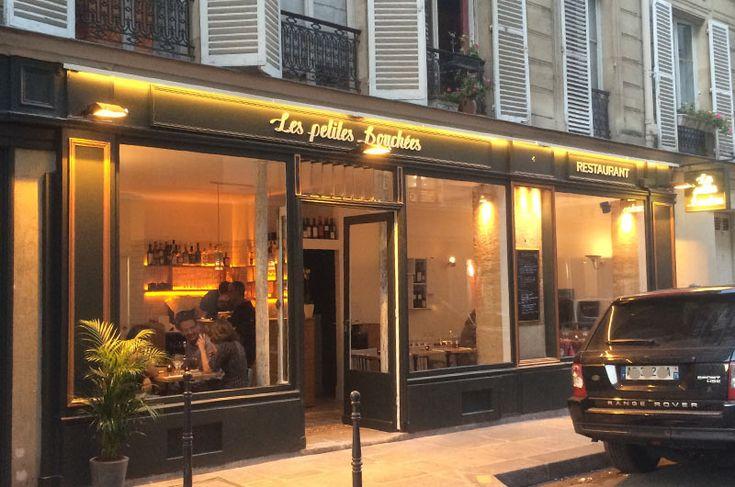 Restaurant dans Le Marais - les petites bouchées - Paris