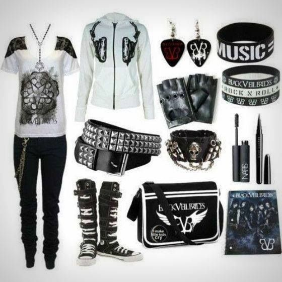 I just want the jacket,pants,music bracelet, and makeup