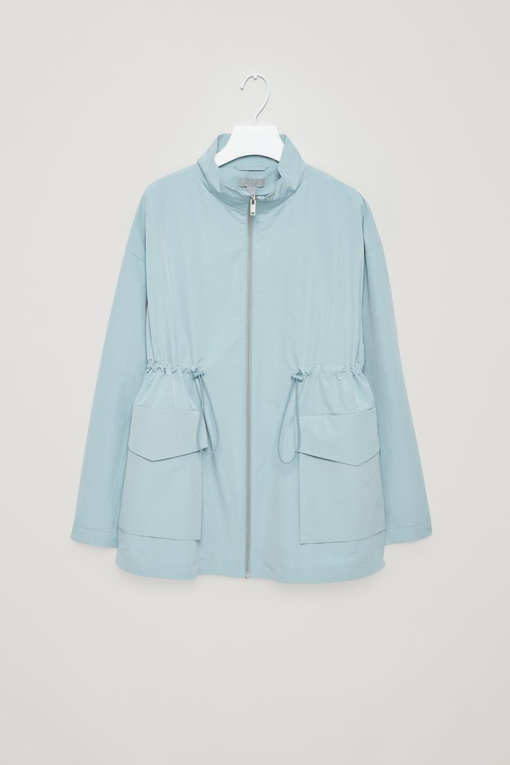 COS   Jacket with drawstring waist
