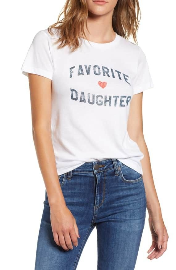 6a4bfb4aa Favorite Daughter Tee SUB_URBAN RIOT | Gift ideas | Stylish summer ...