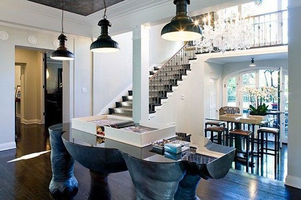 TabLe..'Unpretentious Luxury' in Ed Hardy Designer Christian Audigier's Home | Zillow Blog