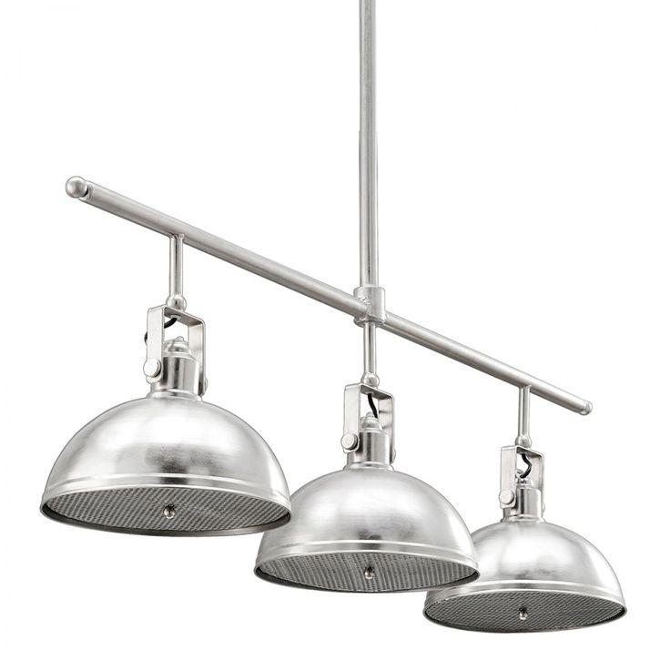 3 Light Retro Servery - Industrial Pendants - Lighting & Fans