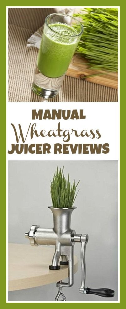 Manual Wheatgrass Juicer Reviews – Best Juicers in 2016 http://juicymaker.com/best-juicers-guide/benefits-of-juicing-once-a-day/juicing-for-energy-in-the-morning/
