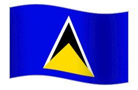 Centerblog.net patriotic animated frames  | File:Animated-Flag-St-Lucia.gif…
