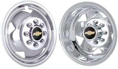 "WheelCovers.Com - 2008 2009 2010 GM Licensed Chevrolet Chrome Plated Stainless Steel Wheel Simulators / Liners 17"", $359.95 (http://wheelcovers.com/wheel-simulators-wheel-liners/2008-2009-2010-gm-licensed-chevrolet-chrome-plated-stainless-steel-wheel-simulators-liners-17/)"