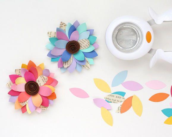 DIY flower petals