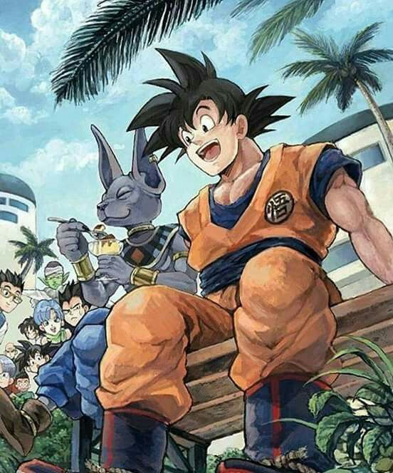 Beerus & Goku | Dragon Ball Z #dbz #fanart #art