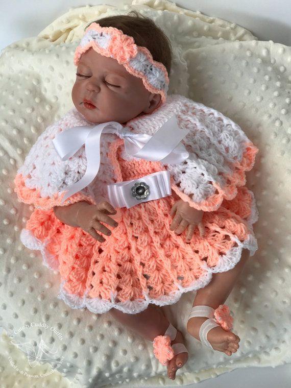 912 mejores imágenes de Baby Dresses en Pinterest | Ganchillo ...