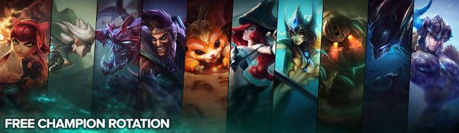 awesome Free Champion Rotation, Week of April 18th