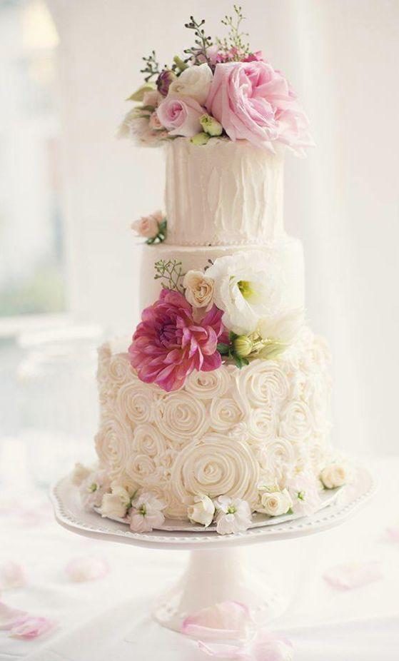 Wedding cake idea; Featured Photographer: Melissa Gidney Photography