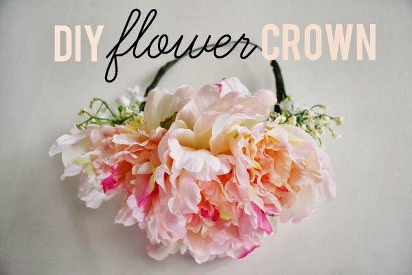 diy: flower crown - urban nester