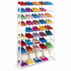 Lynk 50 Pair Shoe Rack $35.99 from Walmart: Pairings Shoes, 50 Pr, Closet, Shoes Storage, 50 Pairings, Shoe Racks, Storage Ideas, Lynk 50, Shoes Racks