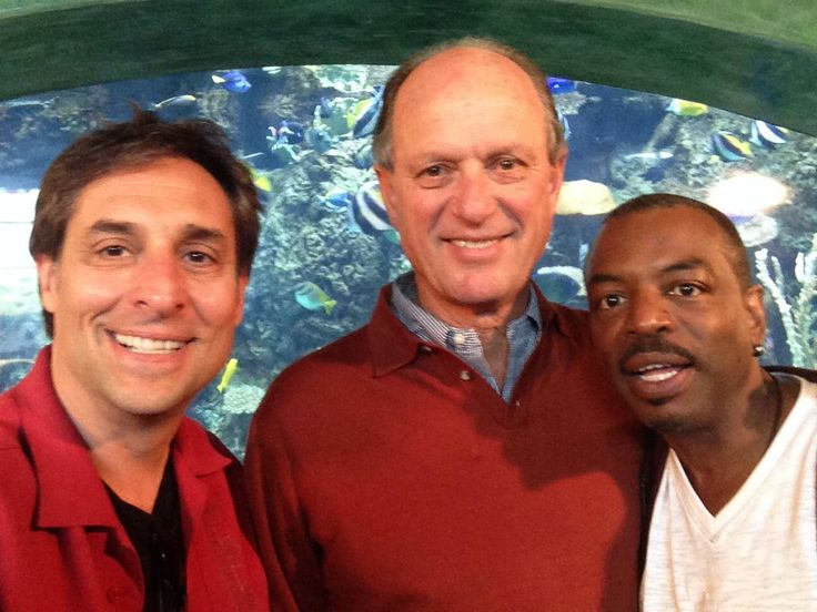 With Dr. Robert Ballard, the man who discovered the wreck of the Titanic!