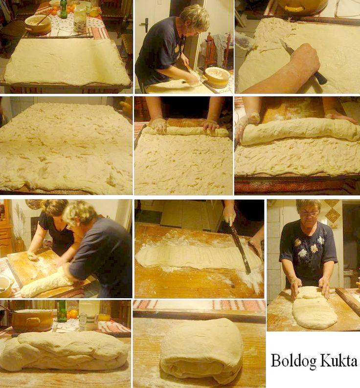 Hájas tészta alaprecept bármilyen készítményhez Elkészítés kb. 2 óra 70 dkg liszt 40 dkg tisztított, darált sertésháj 3 ek. tejföl ...