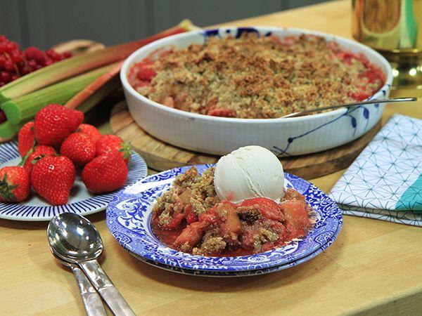 Gluten- och laktosfri smulpaj | Recept från Köket.se