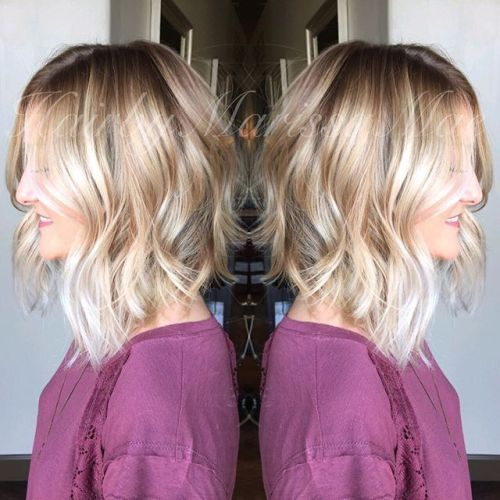 21 Chic Medium Bob Hairstyles for Women – Mob Haircuts #women #s Hairstyles #haircuts #medium