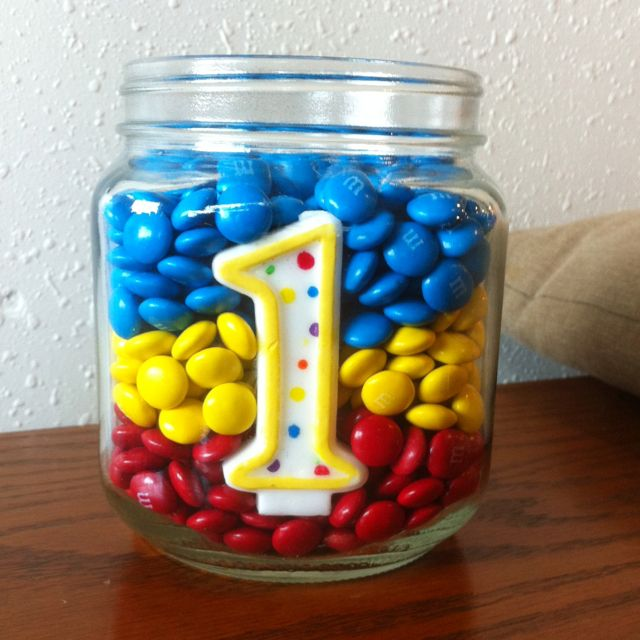 "Miles first birthday centerpiece ""primary color"" theme"