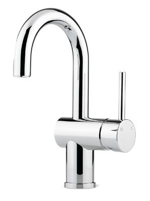 Pegasi 30603 - Basin Mixer, curve - Faucet Strommen -comes in brushed chrome at $374