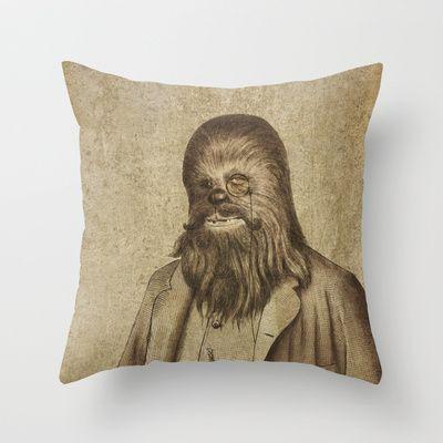 Chancellor Chewman Throw Pillow Terry fan, Terry o'quinn and Throw pillows