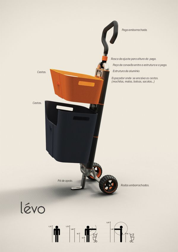 multipurpose cart concept ideal for your everyday shopping