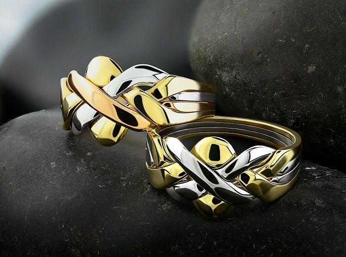 95 best Puzzle rings images on Pinterest