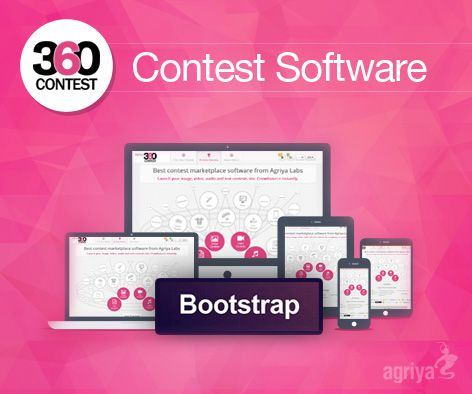 Agriya's 360Contest is specially developed in #Bootstrap to empower a #responsivedesign website with smart pixels. They can automatically adapt themselves to any kind of device and browser of the world.  For more about responsive design: http://customers.agriya.com/products/360-contest/features/bootstrap-with-responsive-design-layout