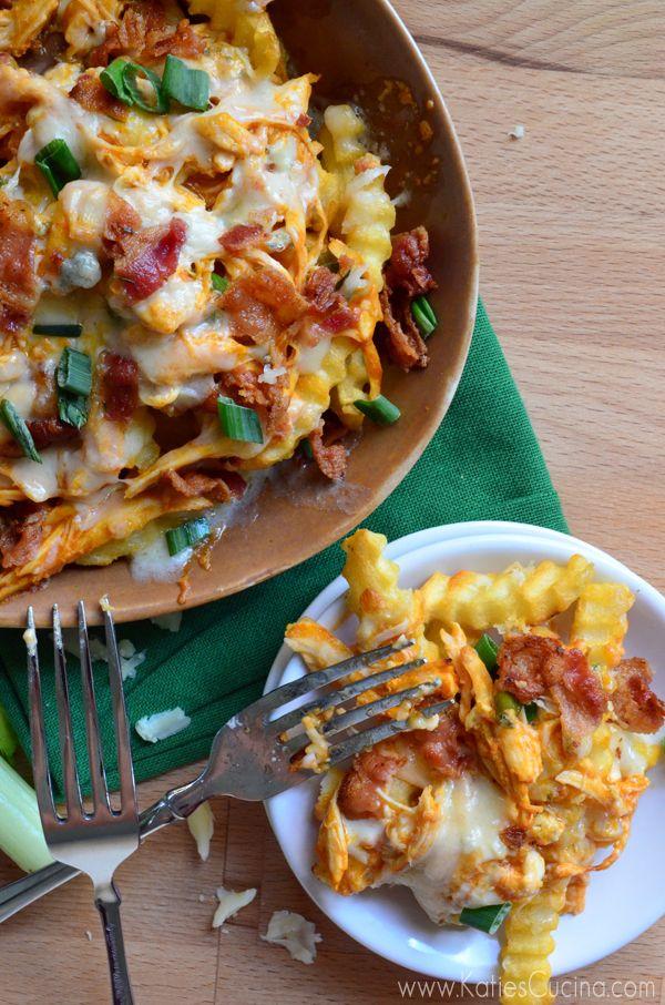 Buffalo Chicken Bacon Cheese Fries   Katie's Cucina