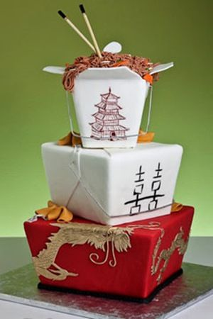 Wedding Cake-Chinese