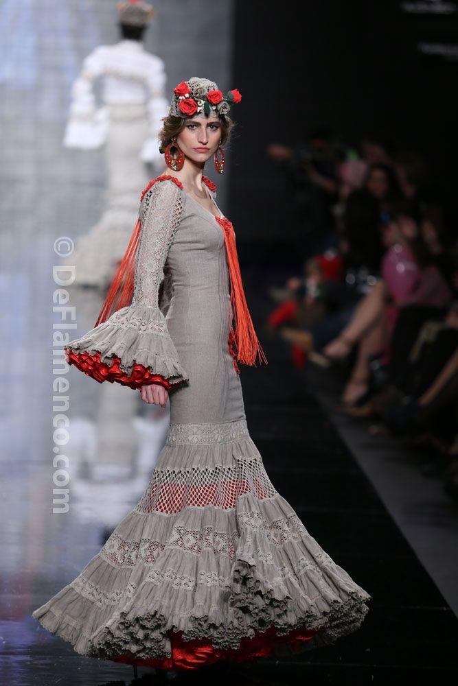 Fotografías Moda Flamenca - Simof 2014 - Atelier Rima 'Lluvia de Flores' Simof 2014 - Foto 13
