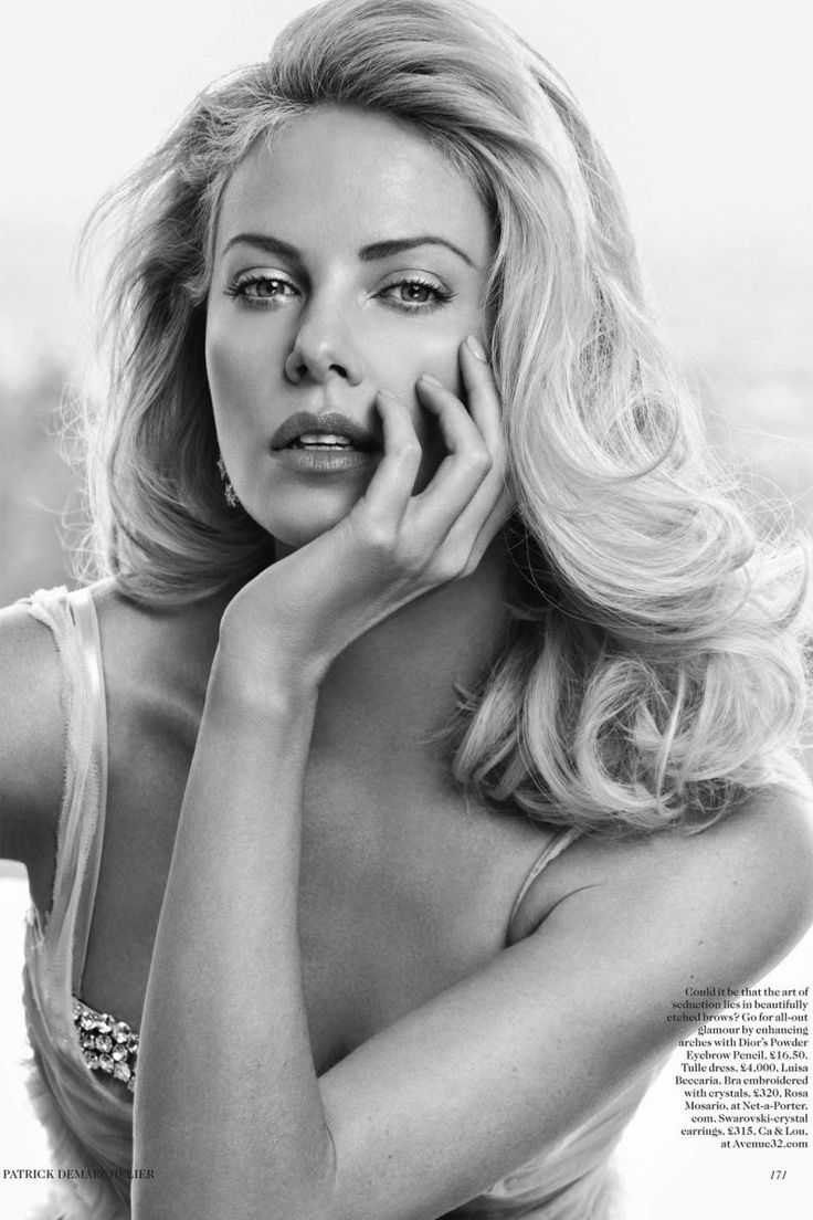 Charlize Theron: timeless beauty.