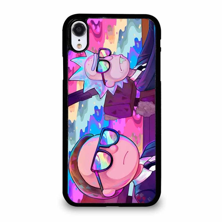 Rick and morty cartoon rainbow 1 iphone xr case in 2020