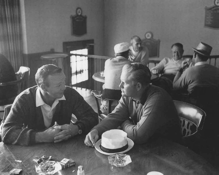 Jack Nicklaus and Arnold Palmer Golf 810 Photo 019