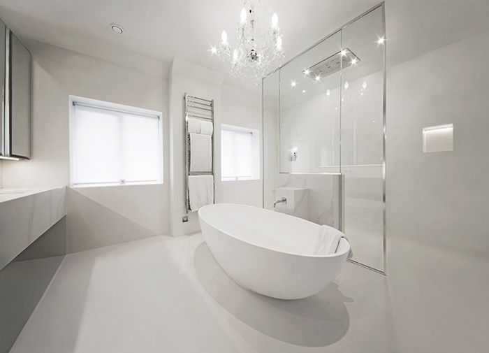 Birdy Really Really Wants To Do This To The Bathroom Wall Concrete Bathroom Design Concrete Bathroom Bathroom Interior