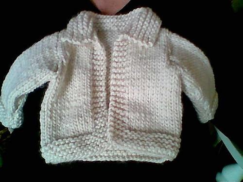 Ravelry: liduin's dik vest (thick babycardigan)