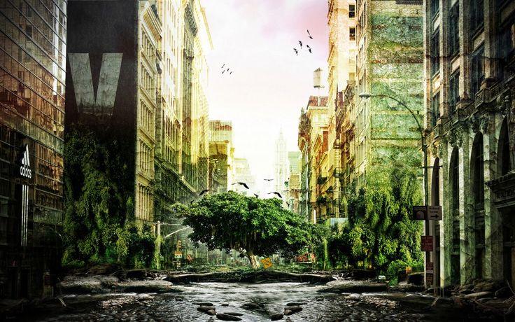 Post Apocalyptic Widescreen Wallpaper 2560x1600