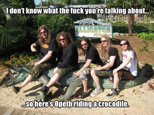 #opeth #crocodile