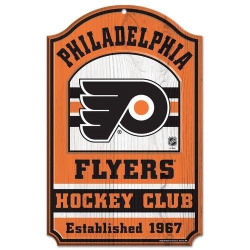 Philadelphia Flyers Wooden Sign