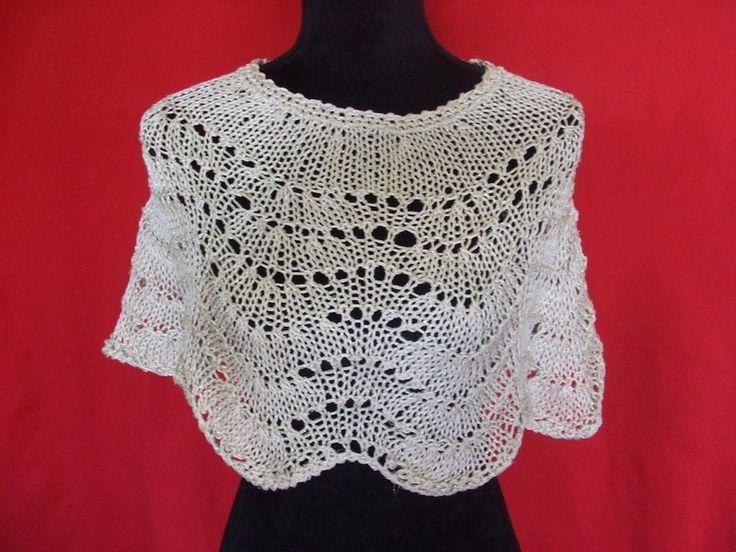 Coprispalle & Bolerini - copri spalle donna maglia cotone o lana + lurex - un prodotto unico di dorazimorena su DaWanda