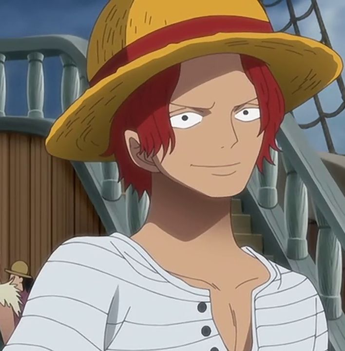 The One Piece Wiki: 158 Best Images About Shanks On Pinterest